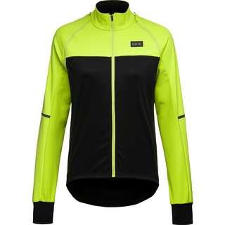 GORE® WEAR PHANTOM Fahrradjacke Damen black-neon yellow