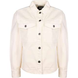 Urban Classics Oversized Shirt Windbreaker Damen weiß