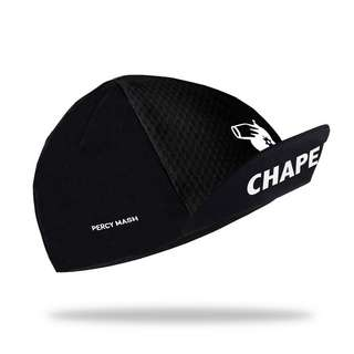 PERCY MASH Chapeau – Cycling Cap Helmmütze black