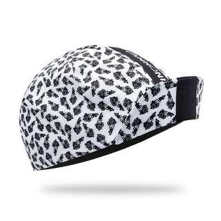 PERCY MASH Cannonman Cap II Cycling Cap Helmmütze white