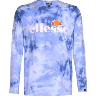 Ellesse SL Grazie Tie Dye Longshirt Herren blau/weiß
