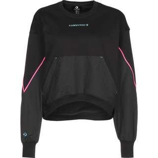 CONVERSE Blocked Alt Terrain Crew Sweatshirt Damen schwarz