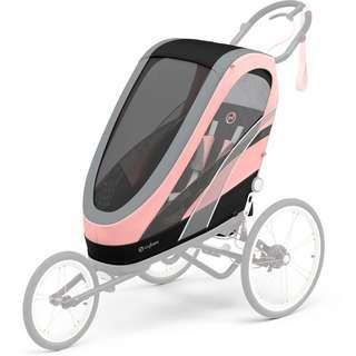 Cybex Zeno Seat Pack Sitz silver pink