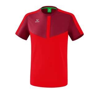 Erima Squad T-Shirt Funktionsshirt rot