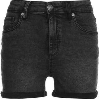 Urban Classics 5 Pocket Jeansshorts Damen schwarz