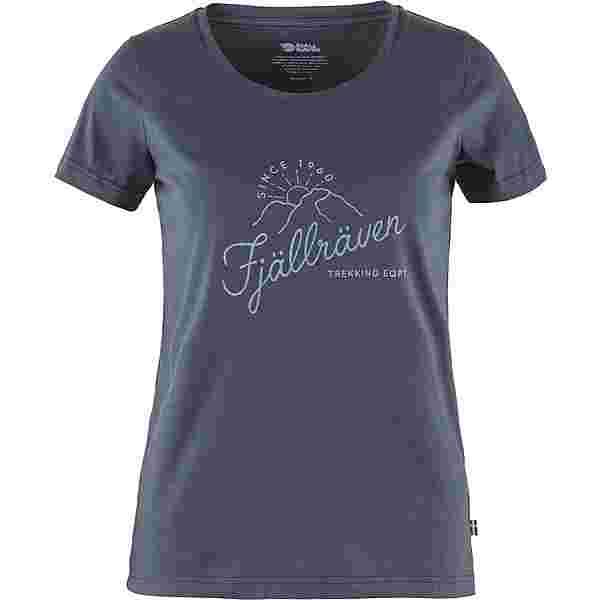 FJÄLLRÄVEN Sunrise T-Shirt Damen navy