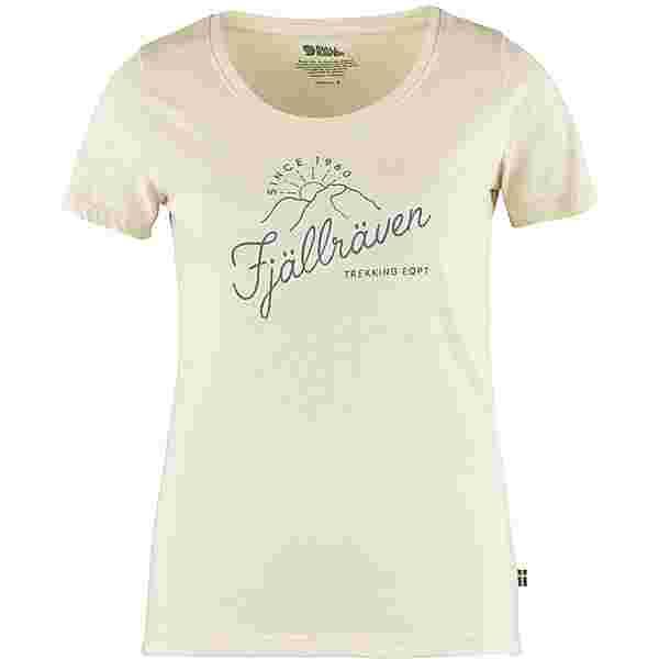 FJÄLLRÄVEN Sunrise T-Shirt Damen chalk white