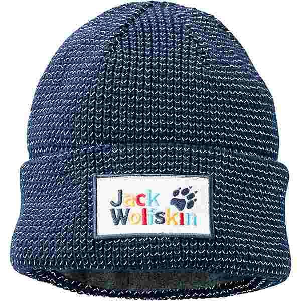 Jack Wolfskin NIGHT HAWK Beanie Kinder dark indigo