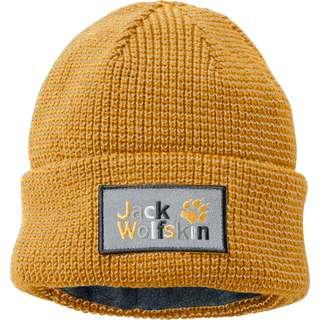 Jack Wolfskin NIGHT HAWK Beanie Kinder sunflower