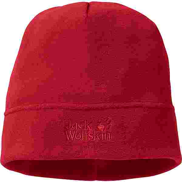 Jack Wolfskin REAL STUFF Beanie red lacquer