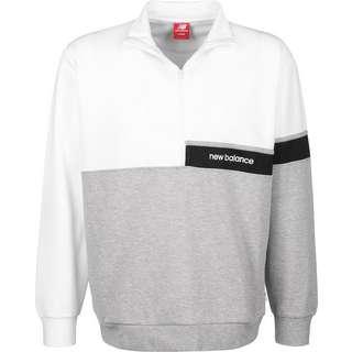 NEW BALANCE MT93501 Sweatshirt Herren weiß/grau/meliert