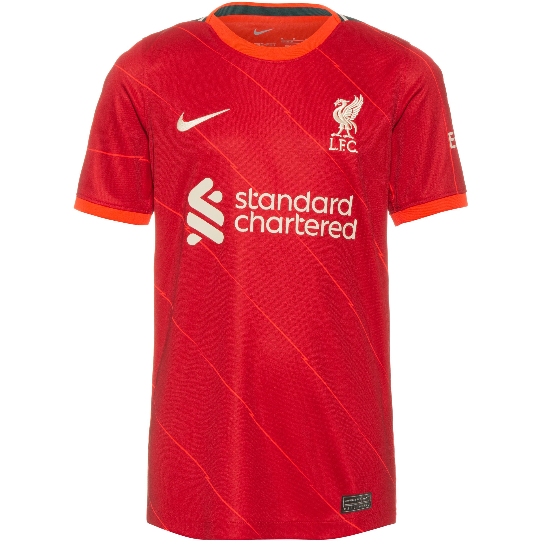 Nike FC Liverpool 21-22 Heim Trikot Kinder