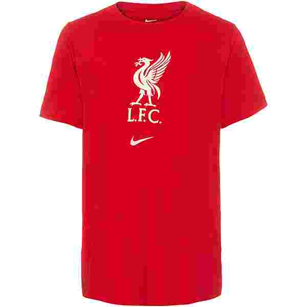 Nike FC Liverpool T-Shirt Kinder gym red-fossil