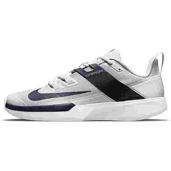 Nike Court Vapor Lite Tennisschuhe Herren pure platinum-obsidian-white