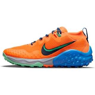 Nike Wildhorse 7 Laufschuhe Herren total orange-obsidian-green glow