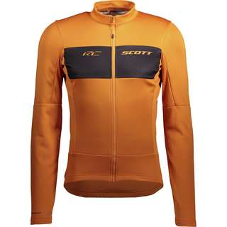 SCOTT RC Warm Hybrid Trikot Herren copper orange-black