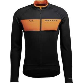 SCOTT RC Warm Reversible Fahrradjacke Herren black-copper orange