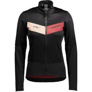 SCOTT RC Fahrradjacke Damen black-ochre red