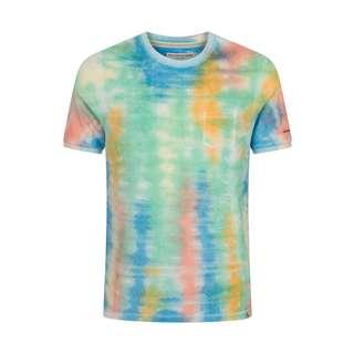 Colours & Sons T-Shirt T-Shirt Herren batik