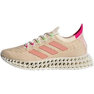 adidas 4DFWD Laufschuhe Damen signal green-signal green-shock pink