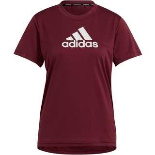 adidas DESIGNED2MOVE AEROREADY Funktionsshirt Damen victory crimson-white