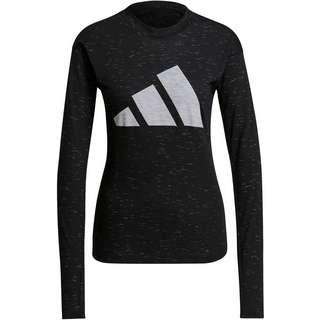 adidas WIN SPORT FUTURE Langarmshirt Damen black melange