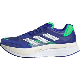 adidas Adizero Boston 10 Laufschuhe Herren sonic ink-ftwr white-screaming green