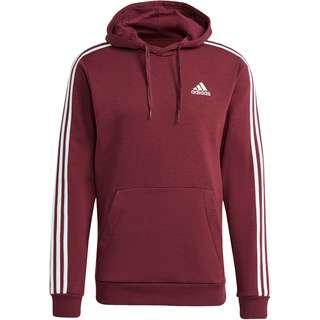 adidas 3-STRIPES  SPORT ESSENTIALS Hoodie Herren victory crimson-white