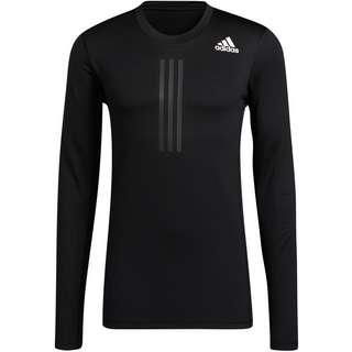 adidas WARM DESIGNED4TRAINING AEROREADY Funktionsshirt Herren black