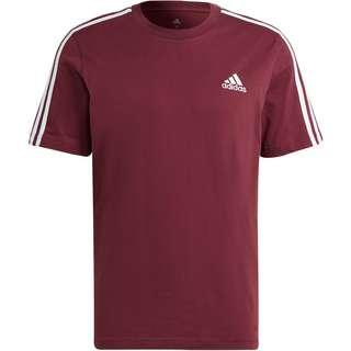 adidas 3-STRIPES  SPORT ESSENTIALS T-Shirt Herren victory crimson-white