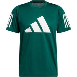 adidas 3 BAR DESIGNED4TRAINING AEROREADY Funktionsshirt Herren collegiate green