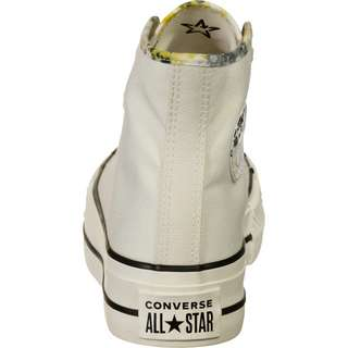 CONVERSE All Star Hi Summer Fest Platform Sneaker Damen beige