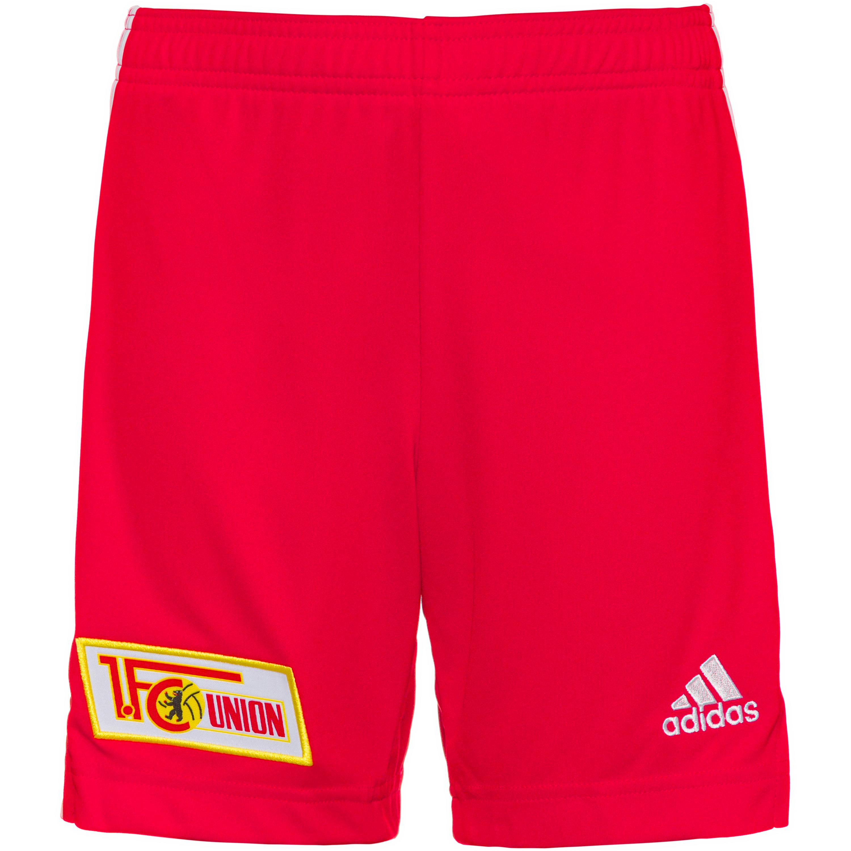Image of adidas 1. FC Union Berlin 21-22 Heim Fußballshorts Kinder
