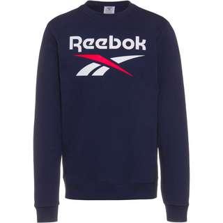 Reebok Big Logo Sweatshirt Herren vector navy