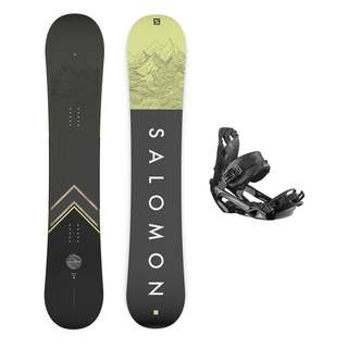 Salomon SIGHT+RHYTHM BLACK Freeride Board Herren multi color