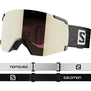 Salomon S/VIEW SIGMA Bk/Sol BlackGold Skibrille black