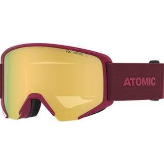 ATOMIC SAVOR BIG STEREO Skibrille dark red