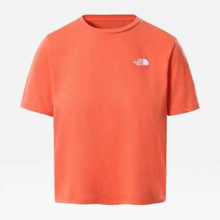 The North Face Foundation Croptop Damen emberglow orange