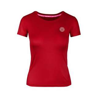 BIDI BADU Calla Tech Roundneck Tee Tennisshirt Kinder rot