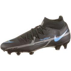 Nike PHANTOM GT2 PRO DF FG Fußballschuhe Herren black-black-iron grey-univ blue