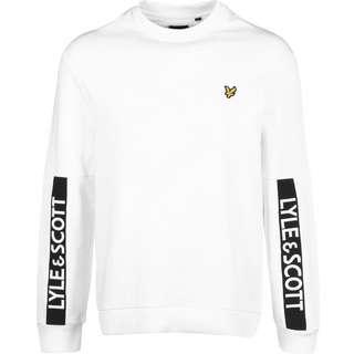 Lyle & Scott Branded Sweatshirt Herren weiß
