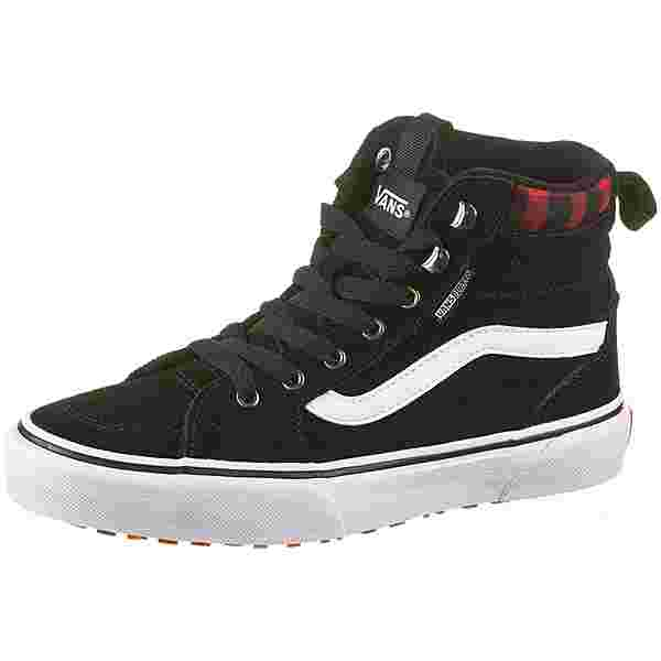 Vans FILMORE HIGH VANSGUARD Sneaker Kinder suede black-red plaid