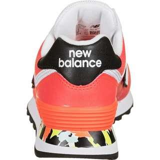 NEW BALANCE 574 Sneaker Damen orange/rot/neon