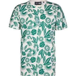 New Era LA Dodgers Floral AOP T-Shirt Herren grün/weiß
