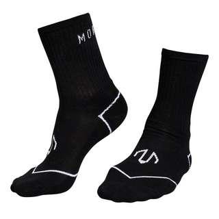 MOROTAI PREMIUM Socks Crew (2 Paar) Sportsocken Schwarz