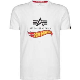 Alpha Industries X Hot Wheels Flag T-Shirt white