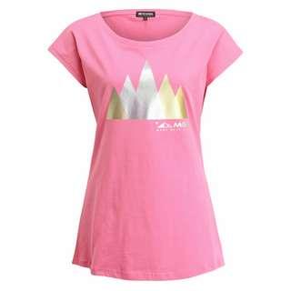 Mont Gele Gear Baumwoll-T-Shirt T-Shirt Damen rot