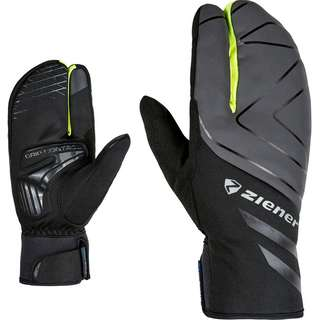 Ziener DALYO AS Touch Fahrradhandschuhe black-poison yelow