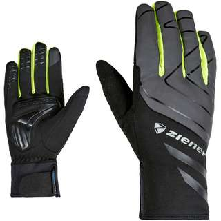 Ziener Daly AS Touch Fahrradhandschuhe black-poison yelow