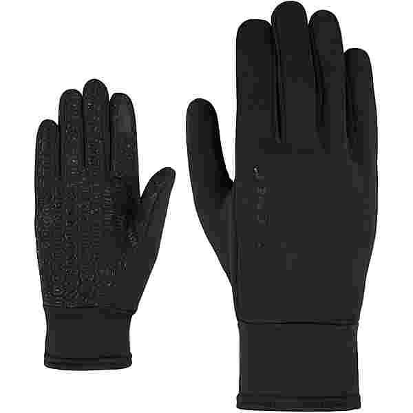 Ziener LISANTO TOUCH MULTISPORT Fingerhandschuhe Kinder black